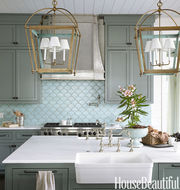 A Fantastic Way of Decorating Your Kitchen Area is Tiling