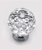 Designer Crystal/Glass Cupboard Knobs/Handles At Cost Effective Prices