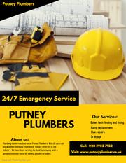 Emergency plumbers in putney