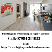Get Dazzling Painting and Decorating Services in High Wycombe