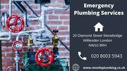 Best Plumber West London | Emergency Plumbing Services